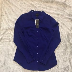 Purple Worthington Button Down Shirt